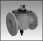 КЗМЭФ-6 (С/СД)-ХХ-Х-12 - клапан газовый с электромагнитным управлением, с ручным взводом, с удержанием клапана в рабочем положении с помощью напряжения на катушке электромагнита